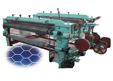 Fully Automatic Hexagonal Wire Netting Machine Heavy Duty ISO9001 Certificated