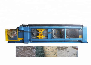 High Efficiency Gabion Mesh Machine 100mm X120 Mm Mesh Size Low Noise